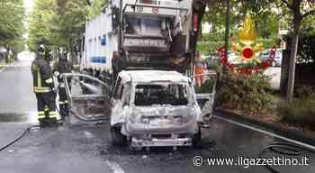 Montebelluna. Tampona il camion dei rifiuti: l'auto prende fuoco, ragazza in ospedale Foto - Il Gazzettino