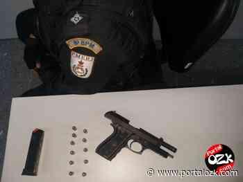 PM apreende pistola no Parque Santa Helena, em Campos - Portal OZK - Portalozk.com