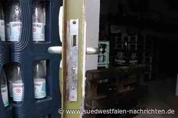 Einbruch in Getränkehandel in der Esloher Straße in Fretter | Finnentrop - Südwestfalen Nachrichten | Am Puls der Heimat.