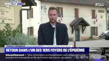La Balme-de-Sillingy en Haute-Savoie, l'un des premiers foyers de l'épidémie de coronavirus, soulagée de pouvoir se déconfiner - Actu Orange