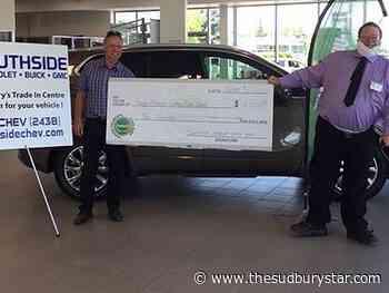 Southside Chevrolet raised money for Sudbury Food Bank