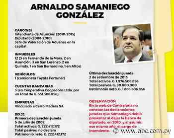 Samaniego creció un 748% - Política - ABC Color