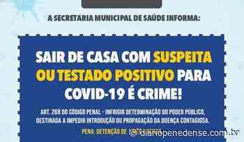 Prefeitura de Penedo vai intensificar vigilância sobre pessoas notificadas com Covid-19 - Geraldo Jose