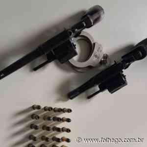 Polícia Civil prende em Formosa suspeito de alugar armas para o cometimento de roubos e descobre, na casa do investigado, uma rinha de galos - FolhaGO