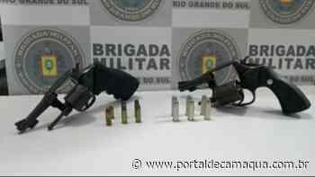 Brigada Militar de Cachoeira do Sul prende homem por posse irregular de arma - Portal de Camaquã