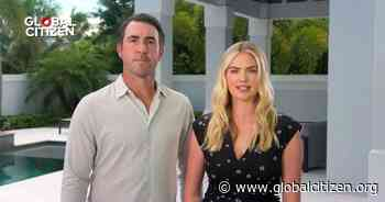 Kate Upton and Justin Verlander Talk Community and COVID-19 for 'Global Goal: Unite for Our Future' - Global Citizen