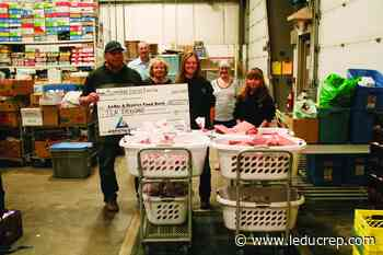 Food bank receives donation of meat and money - Leduc Representative