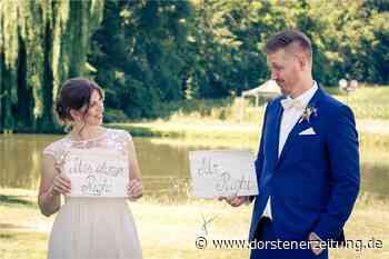 Fotowettbewerb: Die kreativen Ideen gehen den Brautpaaren nicht aus - Dorstener Zeitung