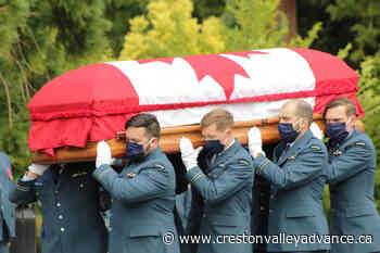 VIDEO: Motorcade procession memorializes BC pilot killed in military helicopter crash - Creston Valley Advance