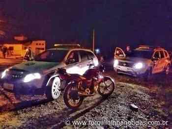 Moto furtada na Santa Cruz é rapidamente recuperada pela PM - Forquilhinha Notícias