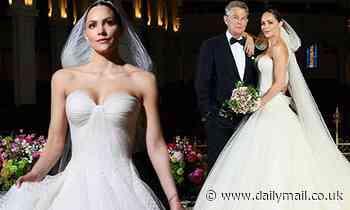 Katharine McPhee celebrates one year of marriage to David Foster