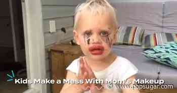 These Kids Stole Mom's Makeup and Did NOT Hold Back - POPSUGAR