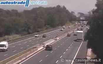 Autostrada A1, incendio tra Valmontone e bivio Roma Sud: colonna di fumo - Casilina News - Le notizie delle province di Roma e Frosinone