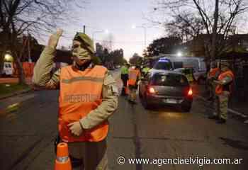 Nuevo operativo de control vehicular y peatonal en Quilmes - Agencia El Vigía