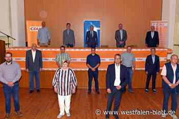 CDU peilt absolute Mehrheit an - Westfalen-Blatt