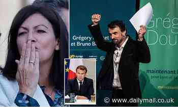 Green wave batters Emmanuel Macron in local elections as his centrist party suffers humiliating loss