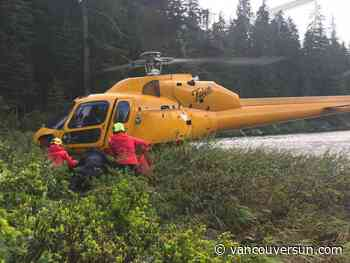 Hiker stranded overnight rescued from Elsay Lake on Sunday