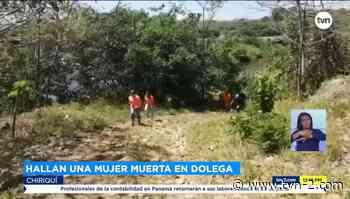 Nacionales Hallan cuerpo de mujer en río de Dolega - TVN Panamá