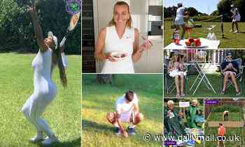 Wimbledon stars and fans mark the day the Championships were due to start