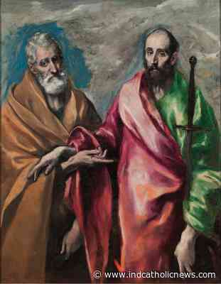 Today's Gospel in Art - Solemnity of Saint Peter and Saint Paul   ICN - Independent Catholic News