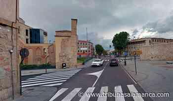 La calle San Pablo de Salamanca, cortada al tráfico toda la semana: otro acceso al centro que se cierra - Tribuna de Salamanca
