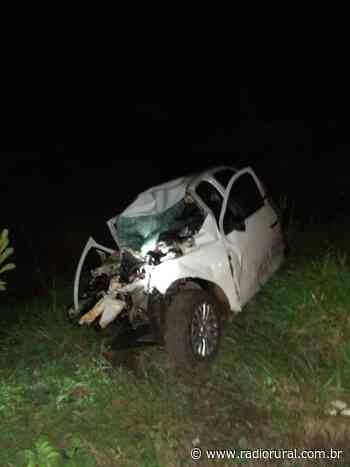 Acidente deixa uma pessoa morta na BR-282, em Faxinal dos Guedes - Rádio Rural