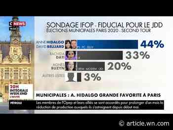 Paris Mayor Anne Hidalgo declares victory in her fight to win reelection and oversee the ...