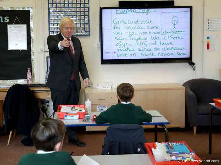 Hoping to rebound from coronavirus, PM Johnson sets out school building plan