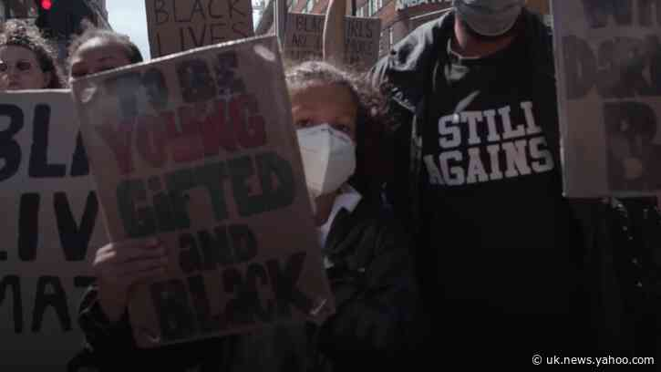 Students demand change for racial inequality in All Black Lives Matter march