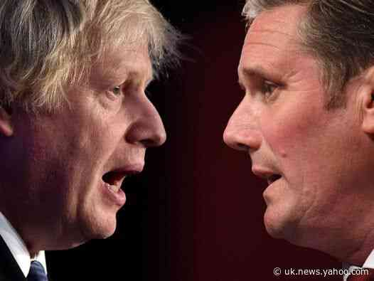 Tories are all talk on revamping Britain's infrastructure, Keir Starmer claims as Johnson to announce school plan