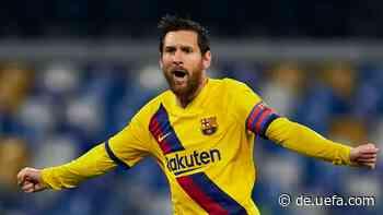 Lionel Messi hat Geburtstag: Welche Rekorde hält er? - UEFA.com