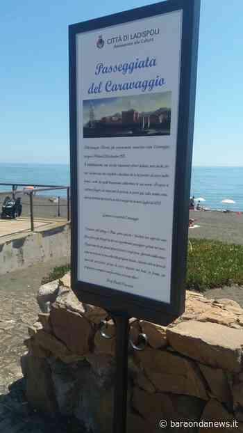 Ladispoli, posta una targa storica che ricorda il passaggio di Caravaggio - BaraondaNews