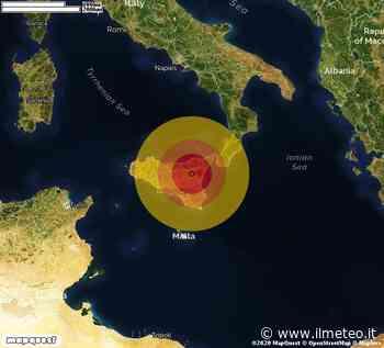 TERREMOTO in provincia di ENNA, in SICILIA, a Carcari. Magnitudo 2.9. Ecco QUI i DETTAGLI - iL Meteo