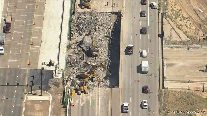 I-70 Reopened After Weekend Work On Central 70 Project