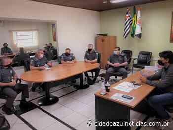 Nova sede da PM em Santa Gertrudes avança em reunião com prefeito Rogério Pascon - Cidade Azul Notícias