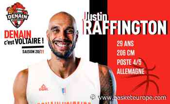 Pro B: L'intérieur allemand Justin Raffington dernière recrue de Denain - BasketEurope.com