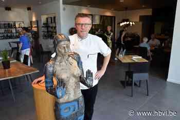 Topkunst helpt bij social distancing in Hamont-Achels restaurant - Het Belang van Limburg
