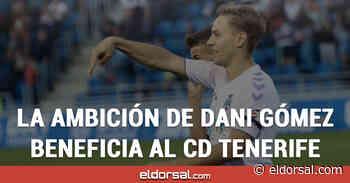 """Dani Gómez: """"Echamos de menos a la afición del CD Tenerife, pero sabemos que están apoyándonos desde casa"""" - eldorsal.com"""
