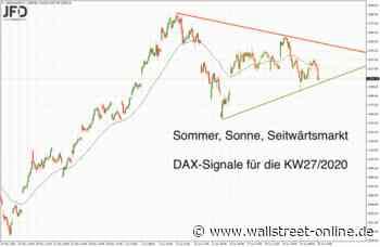 Juniausklang in enger Bandbreite: Warten auf DAX-Ausbruch - wallstreet-online