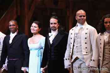 Original Hamilton cast perform with Jimmy Fallon and The Roots tonight - Last Night On