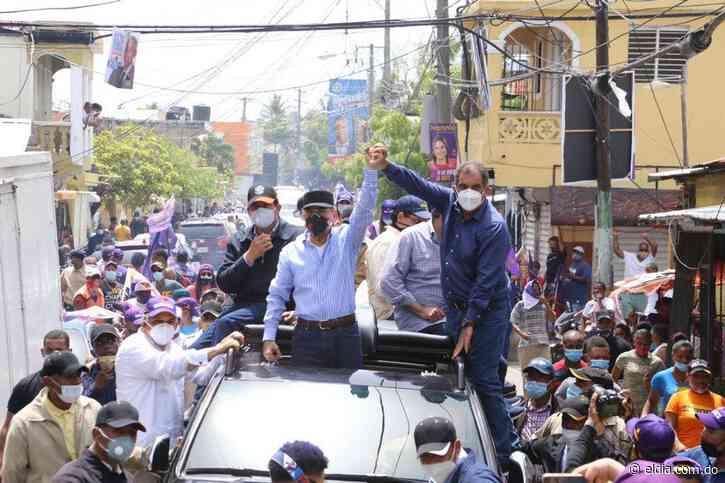 Danilo Medina encabeza caravana en Puerto Plata en apoyo a candidatos PLD - El Dia.com.do