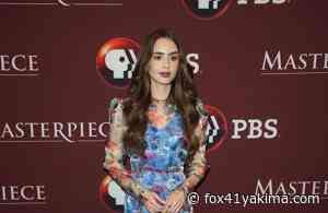 Lily Collins 'weirdly' craves 'nervousness' in her acting roles - FOX 11 and FOX 41