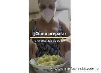 ¿Cómo preparar ensalada de pollo? Alicia Vergara en #InvitadosALaMesa - El Informador - Santa Marta