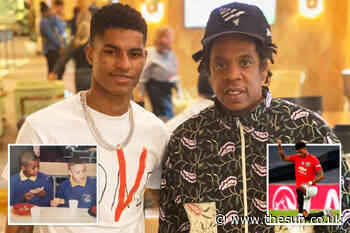 Jay-Z signs Marcus Rashford in hope of turning him into a global campaigner after free school meals triumph - The Sun