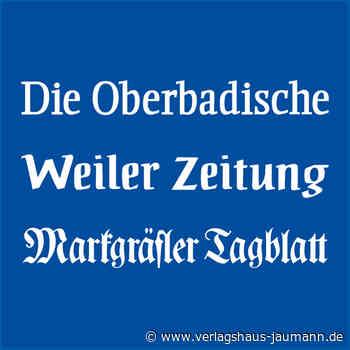 Kandern: Reihe geht zu Ende - Verlagshaus Jaumann - www.verlagshaus-jaumann.de