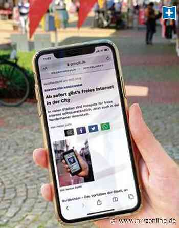 Online-Service: Freies Nordenham-W-Lan stößt auf wenig Interesse - Nordwest-Zeitung
