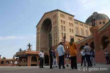 Basílica de Aparecida desenvolve protocolo de segurança e aguarda liberação para missas com fiéis - G1