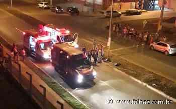 Motociclista morre após bater contra poste em Aparecida - Folha Z