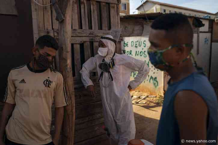 Brazil signs deal to produce experimental virus vaccine