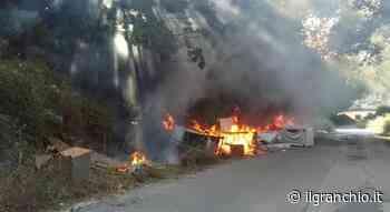 Nettuno, via della Campana nel degrado: a fuoco vecchi mobili a ridosso del bosco dell'Armellino - Cronaca - Il Granchio - Notizie Anzio e Nettuno